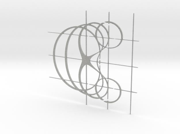 Curve Family in Metallic Plastic