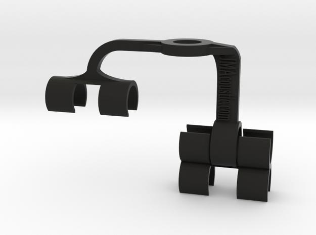 Dual MS 19mm Mic Array in Black Natural Versatile Plastic