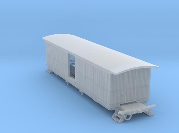 2 Door Milk NO Windows 1 15 17 S Scale 1/64 in Smooth Fine Detail Plastic