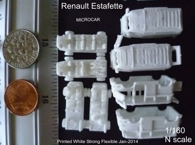 1-160 R-Estafette Microcar SET 3d printed