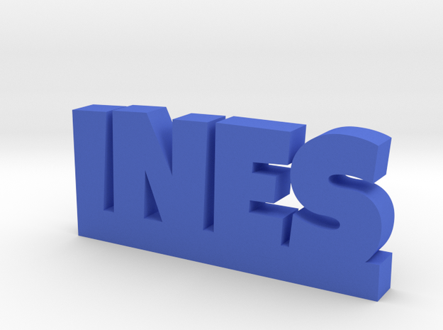 INES Lucky in Blue Processed Versatile Plastic