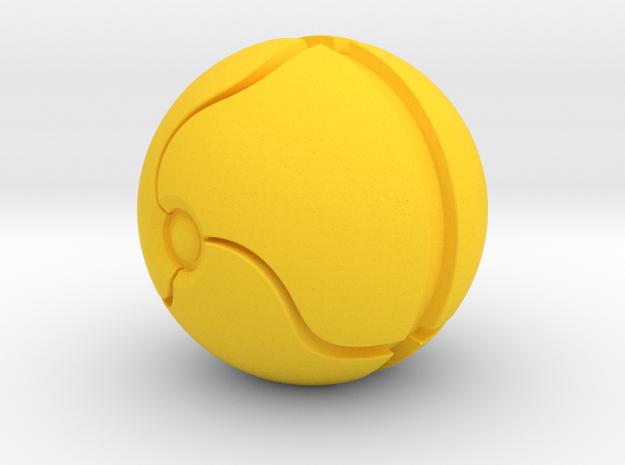 Morph Ball Shift Knob in Yellow Processed Versatile Plastic