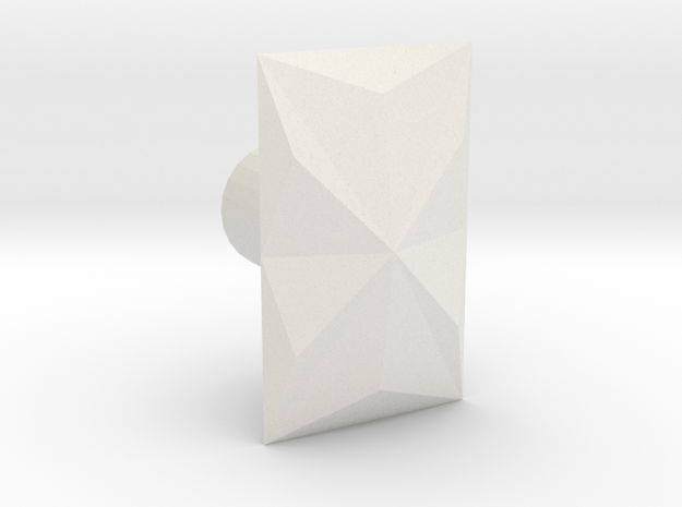 Prizm in White Natural Versatile Plastic