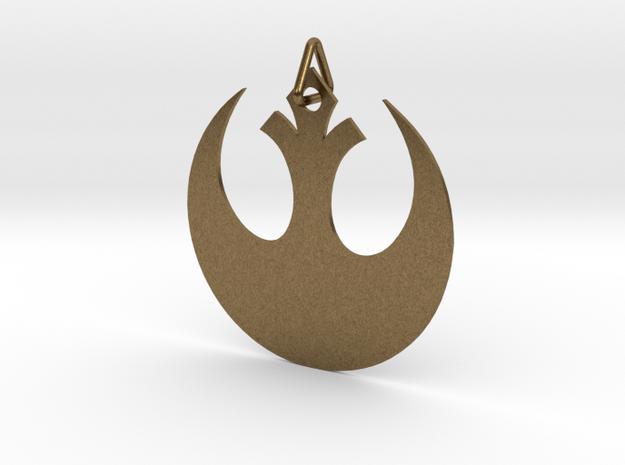 Alliance Star Bird in Natural Bronze (Interlocking Parts)