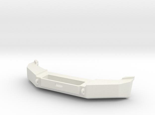 1:10 WJ Grand Cherokee Class 2 Front Bumper in White Natural Versatile Plastic