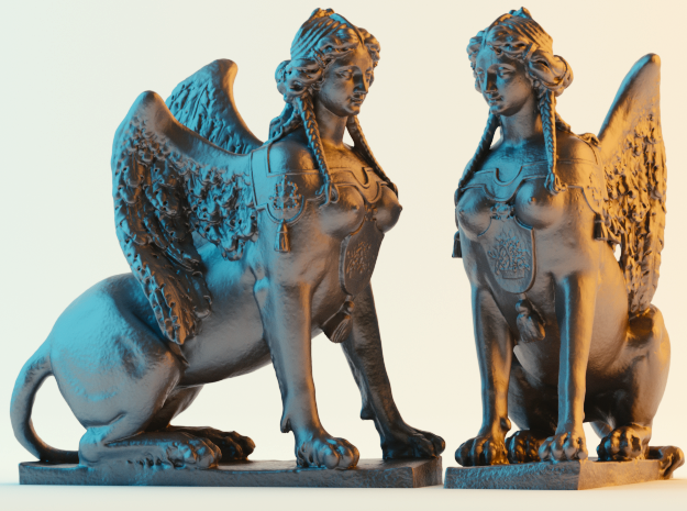 Greek Sphinx of Thebes and Oedipus