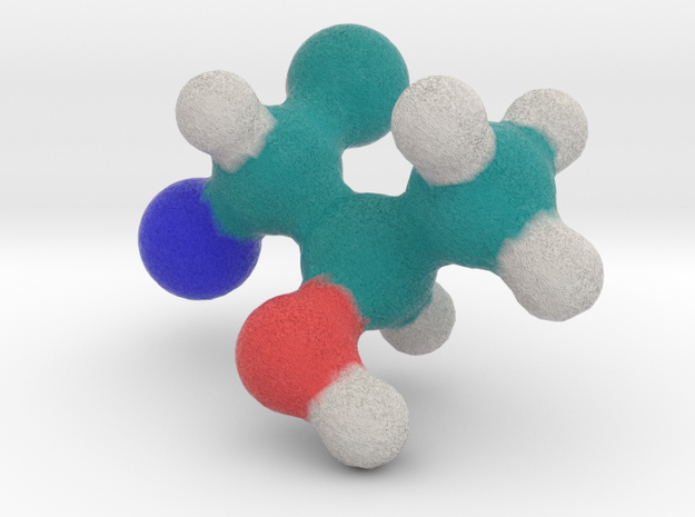 Amino Acid: Threonine in Full Color Sandstone