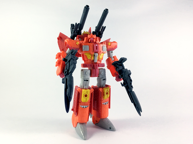 Apex Armory for TR Sentinel Prime Set (Small Arms) in White Strong & Flexible Polished