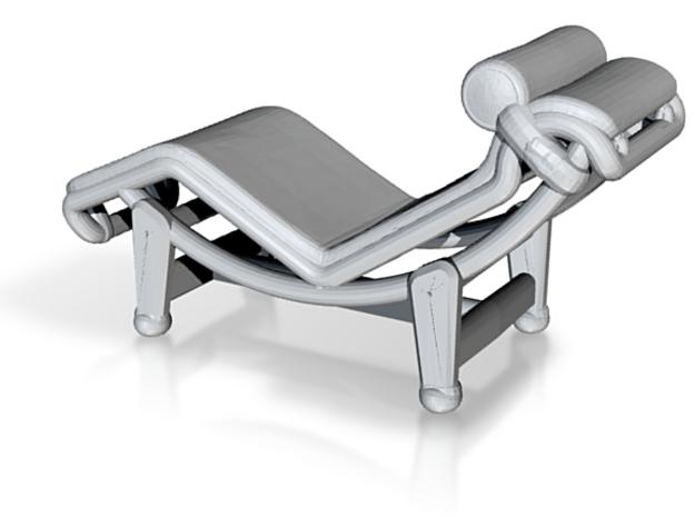 "Mies-Van-Chaise-Chair - 1/4"" Model 3d printed"