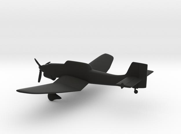 Junkers Ju-87 Stuka in Black Strong & Flexible: 1:144