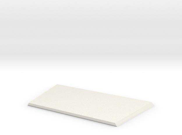 High bonnet new model D90 1:18 Gelande 1/2 in White Strong & Flexible