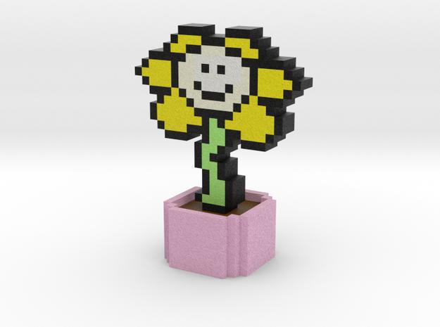 Undertale Flowey Pixel Art