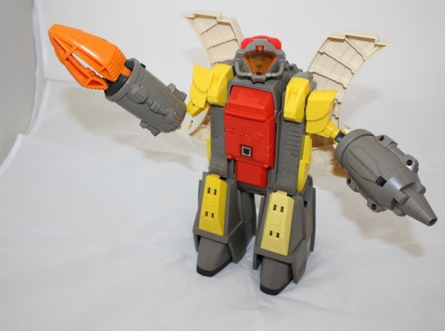 """Omega Supreme Leg Clips or """"Shields"""".  A set of cl in Yellow Processed Versatile Plastic"""