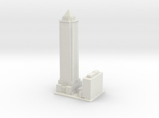 BNY Mellon Bank Center (1:2000) in White Natural Versatile Plastic