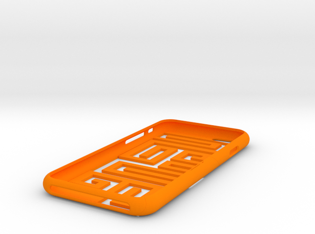 "Iphone 6 "" 9 "" in Orange Processed Versatile Plastic"