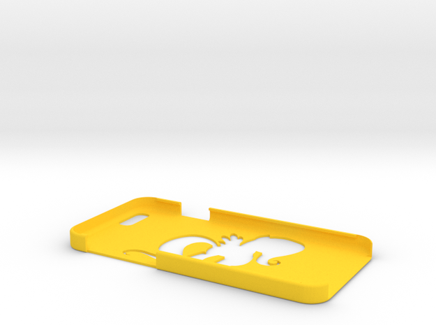 "Iphone 6 ""F Shine"" in Yellow Processed Versatile Plastic"