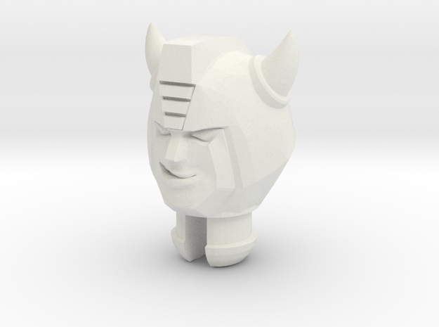 Bug Bite Head for Titans Return Bumblebee in White Natural Versatile Plastic