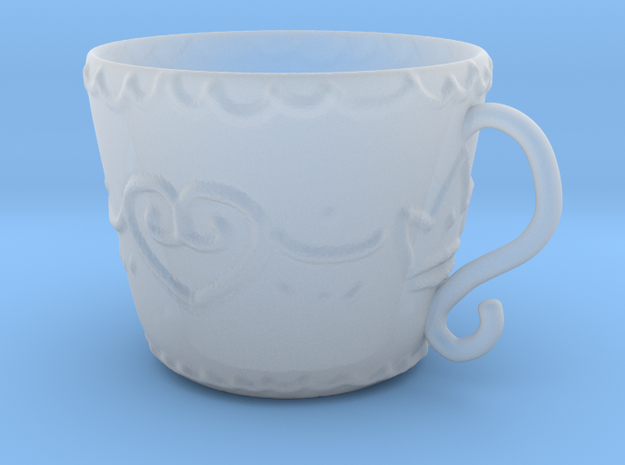 Princess Cup 1 in Smooth Fine Detail Plastic