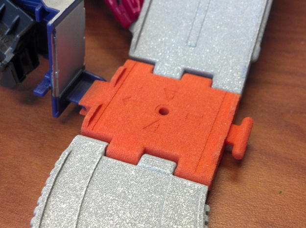 Titans Return Cyberverse Adapter Ramp in Orange Strong & Flexible Polished