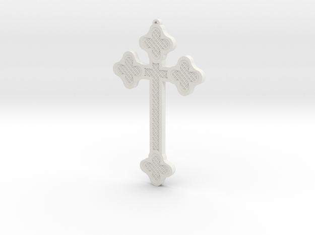 1:6 scale replica cross; Bram Stoker's Dracula in White Strong & Flexible