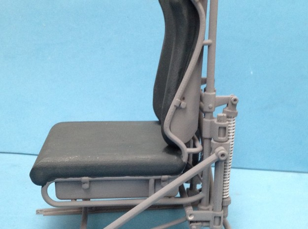 1:7 Scale Co-Pilot Seat 3d printed