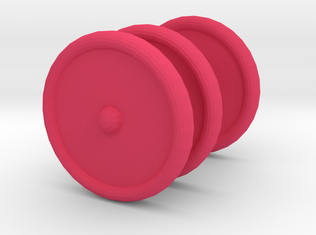 3 Scooter Wheels (2 Back 1 Front)