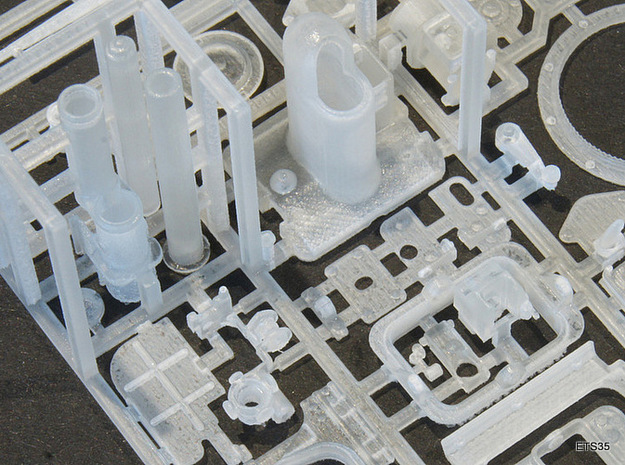 ETS35008 APX-R turret Renault and Hotchkiss tanks 3d printed