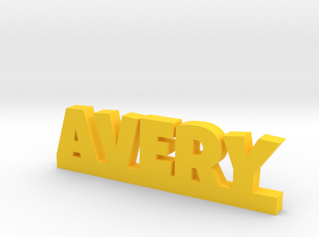 AVERY Lucky in Yellow Processed Versatile Plastic