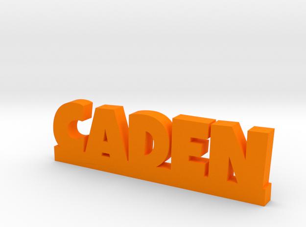 CADEN Lucky in Orange Processed Versatile Plastic