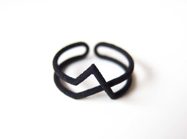 Continuous Geometric Ring