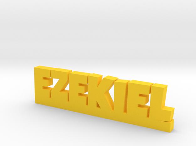 EZEKIEL Lucky in Yellow Processed Versatile Plastic