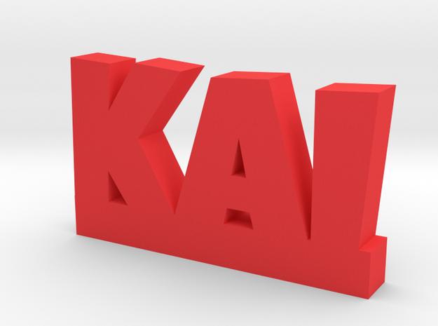 KAI Lucky in Red Processed Versatile Plastic