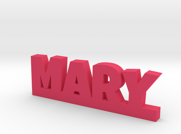 MARY Lucky in Pink Processed Versatile Plastic