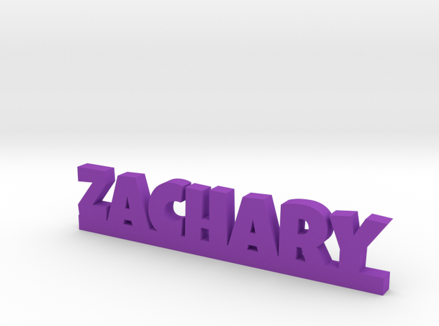 ZACHARY Lucky in Purple Processed Versatile Plastic