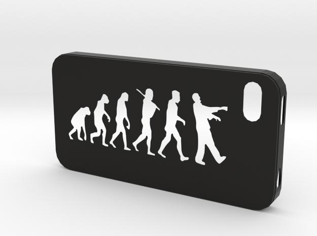 IPhone 4S Evolution Case in Black Natural Versatile Plastic
