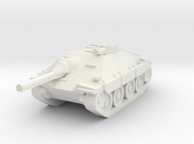 Jagdpanzer - Hetzer in White Natural Versatile Plastic
