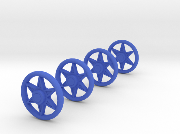 4 Spoked wheels for baby carriage