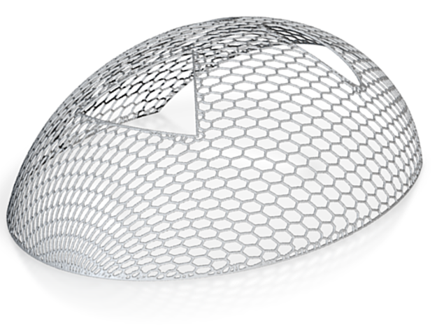 Mesh 1fc in White Strong & Flexible: Small