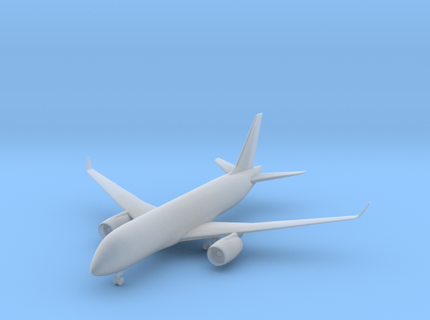 Bombardier CS100 - 1:500 scale in Smooth Fine Detail Plastic
