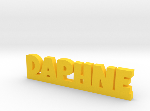 DAPHNE Lucky in Yellow Processed Versatile Plastic