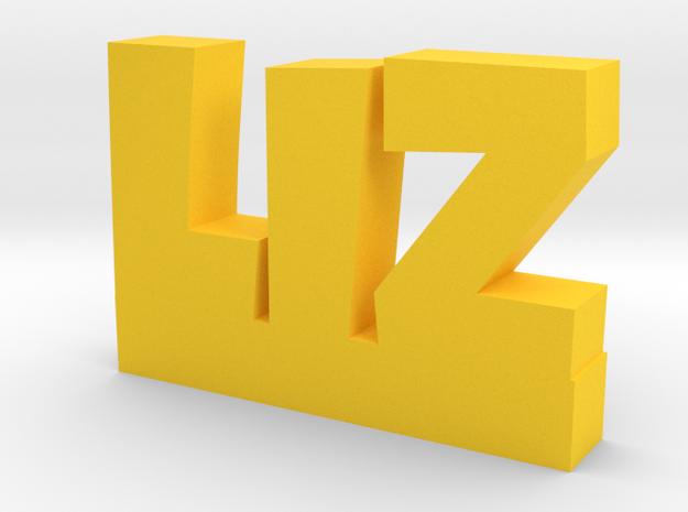 LIZ Lucky in Yellow Processed Versatile Plastic