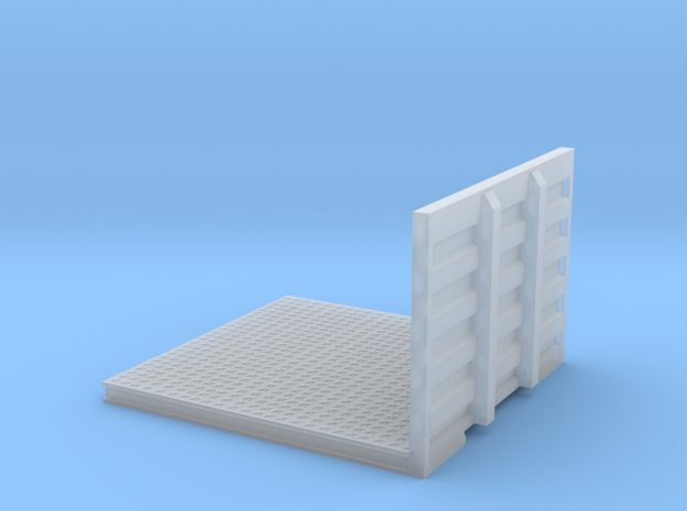 1/87th 8' Drom headache rack Deck for Semi Tractor in Smooth Fine Detail Plastic
