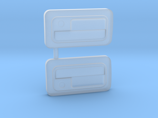 ABC Hobby EF8 CRX Door Handles in Smooth Fine Detail Plastic