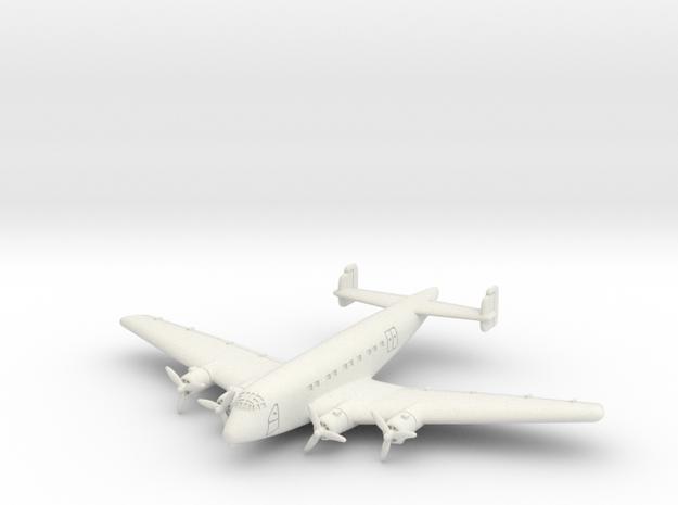Junkers Ju 90 6mm 1/285 in White Natural Versatile Plastic