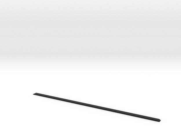 Roof ledge D110 Gelande 1:18 in Black Strong & Flexible
