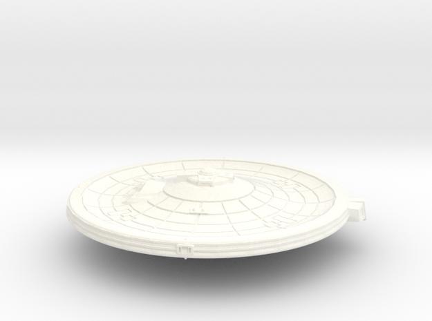 40mm Fed Prim W Imp and Nav in White Processed Versatile Plastic