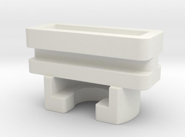 Ikea KVARTAL glider / slider (female) in White Natural Versatile Plastic