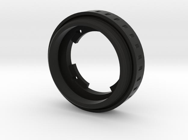 "Argus  ""The Brick"" lens adapter to Leica L39 in Black Natural Versatile Plastic"