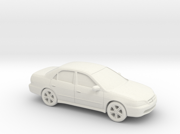 1/43 1997-02 Honda Accord Sedan in White Natural Versatile Plastic