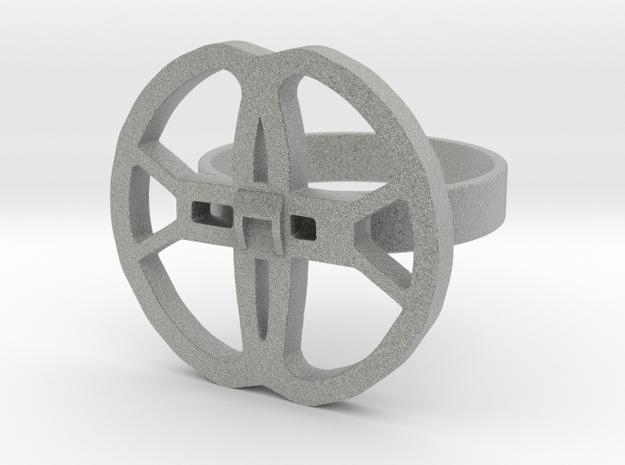 XP DEUS METAL DETECTOR COIL RING 20mm diameter in Metallic Plastic